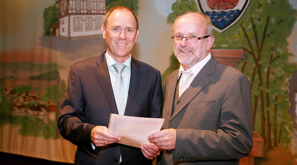 Unser Bürgermeister Rainer Müller ist im Amt
