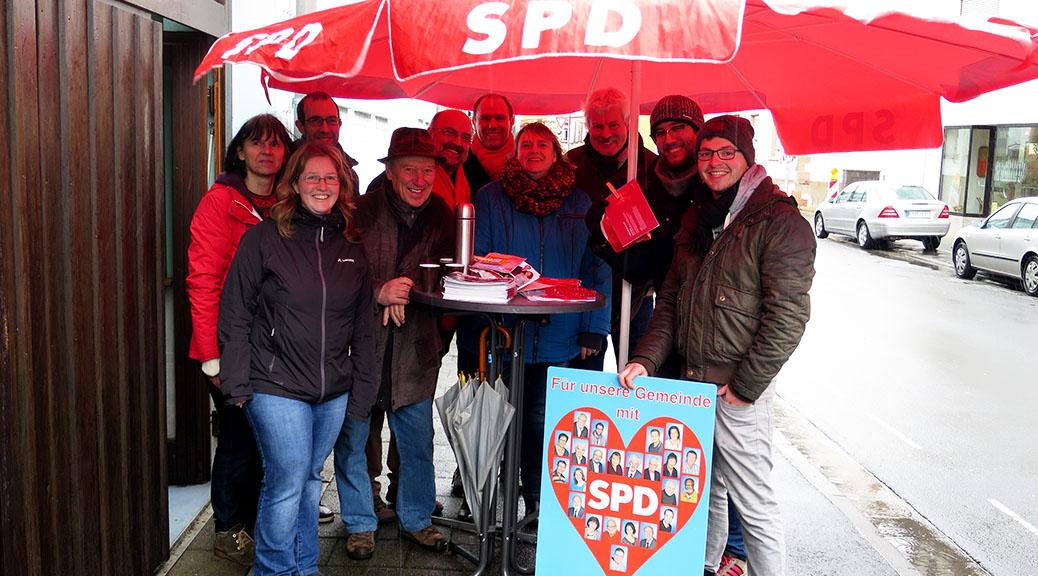 SPD Brensbach zeigt Bürgernähe am Infostand