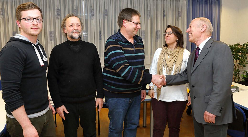 Brensbacher Sozialdemokraten ehren langjährige Mitglieder