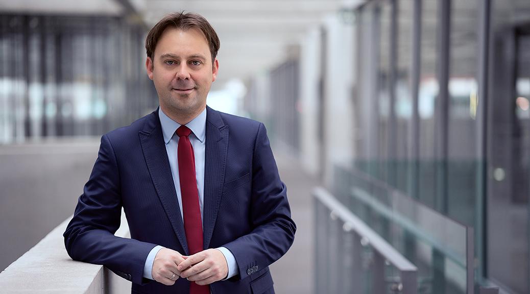 Dr. Jens Zimmermann bittet um Ihre Stimme