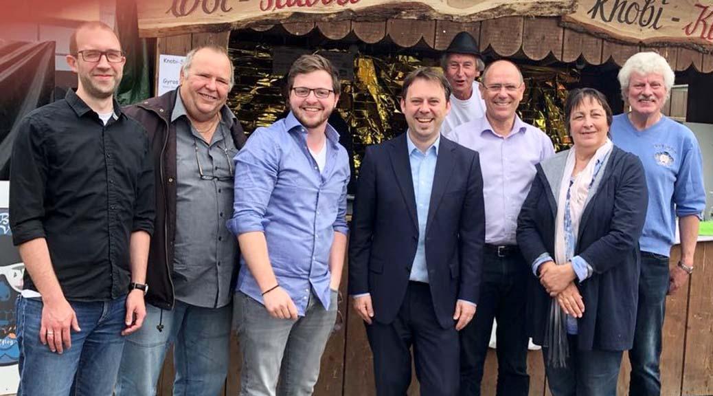 Bundestagsabgeordneter der SPD in Brensbach zu Gast