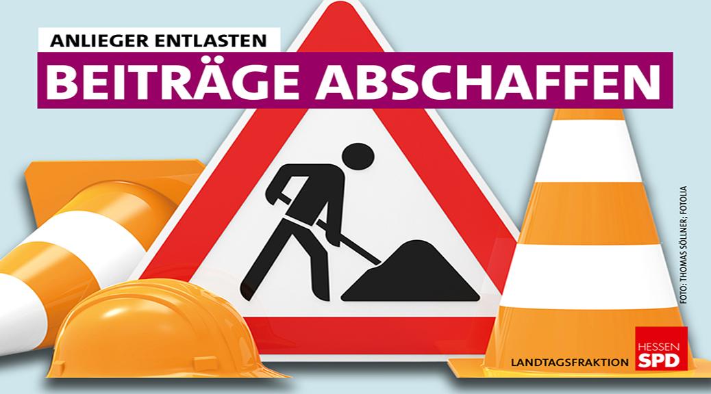 SPD-Fraktion beantragt Abschaffung der Straßenausbaubeiträge