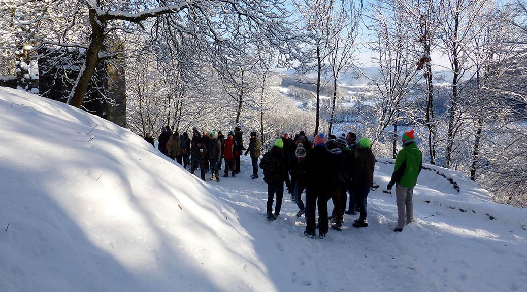 Einladung zur Ortsteil-Wanderung im Winter