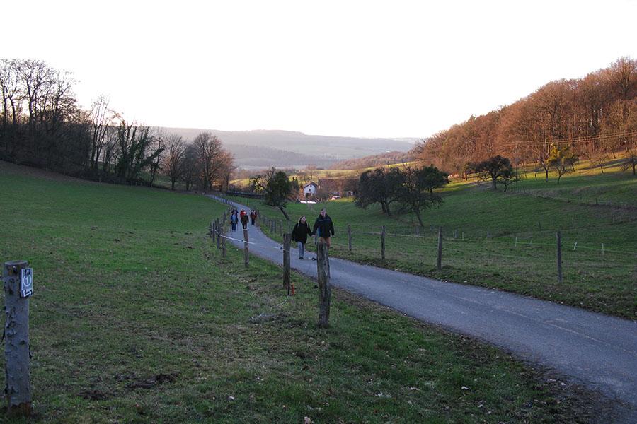Winterwanderung der SPD Brensbach am 17. Februar 2019