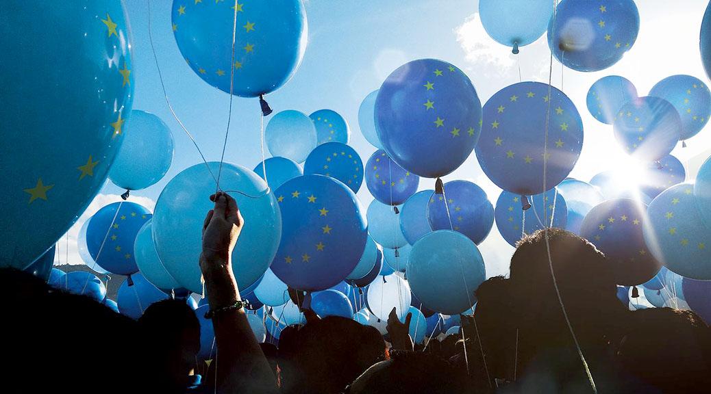 Kommt zusammen und macht Europa stark! – Worte zu Europa