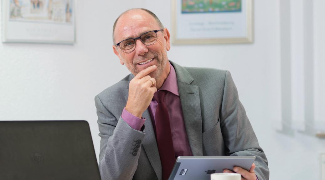 "Bürgermeister Rainer Müller hat ""Das Ganze im Blick"""